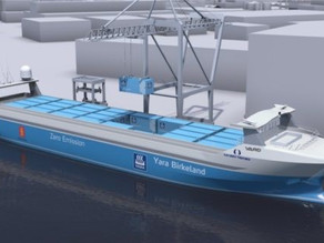 Norway Sets Plans For World's First Electronic Autonomous Container Ship
