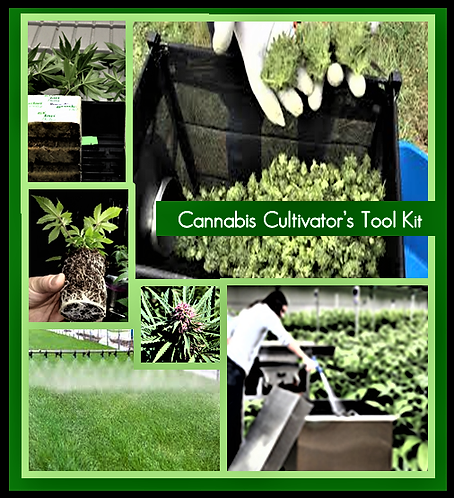 Cannabis Cultivation and Cleaning Toolbox