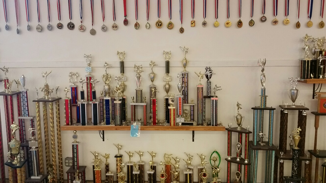 Ahn Martial Arts Trophy Pic