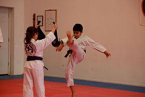 Ahn's Martial Arts HapKiDo Class