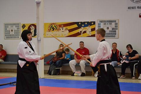 Ahn Martial Arts Weapons Class