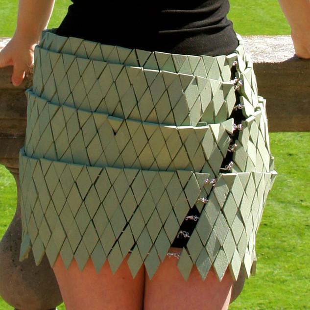 Wooden skirt