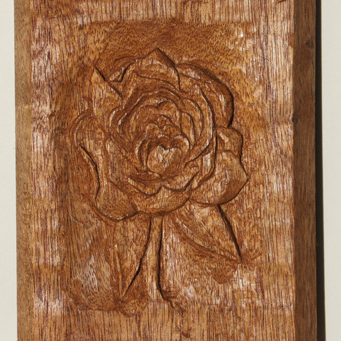 Rose carving