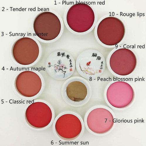 Elegant Makeup Balm - for lips/face blush (6g)