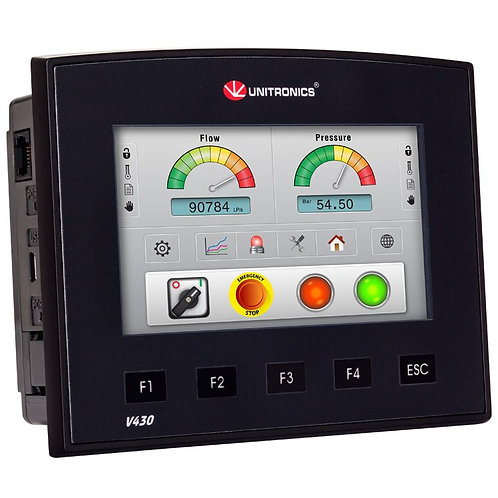 Vision430™- PLC Controller with integrated HMI Touchscreen