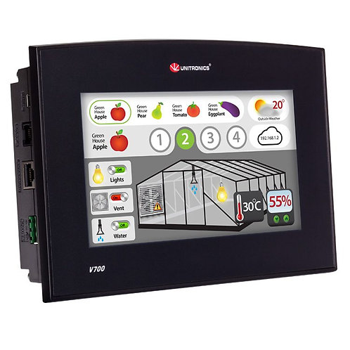 Vision700™- Programmable Logic Controller + Built-in Quality HMI