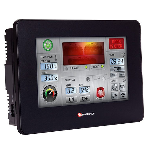 "UniStream® 7""- PLC Controller With High Resolution HMI Touchscreen"