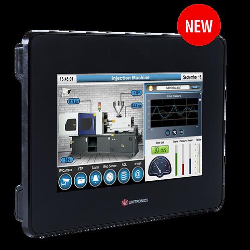 "UniStream® 7"" Built-in: PLC Controller + HMI + I/Os"