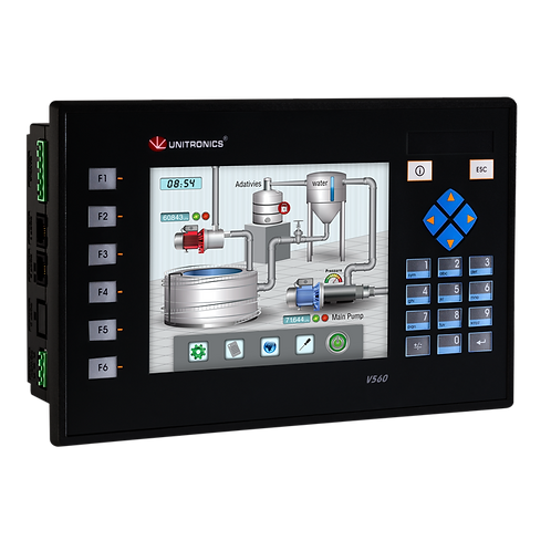 Vision560™- PLC Controller With Built-in Quality HMI Touchscreen