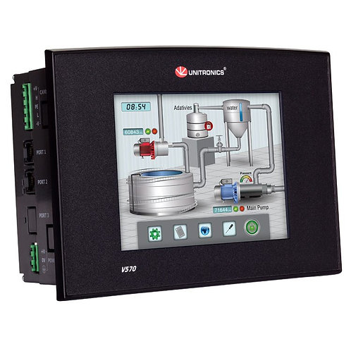 Vision570™- Programmable Logic Controller + Built-in Elegant HMI