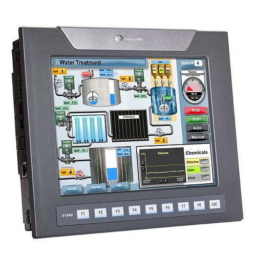 Vision1040™- Programmable Logic Controller + Built-in Quality HMI