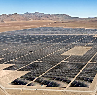 Utility Scale First Solar Series 6 PV Array