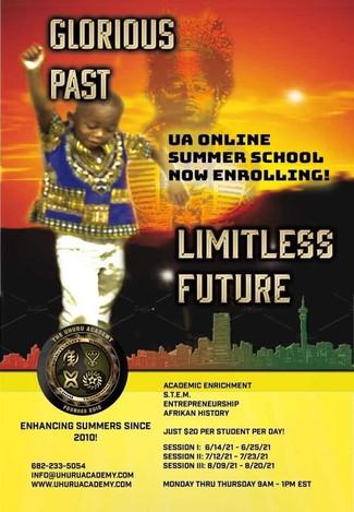 Uhuru Academy's Summer School Program Continues!