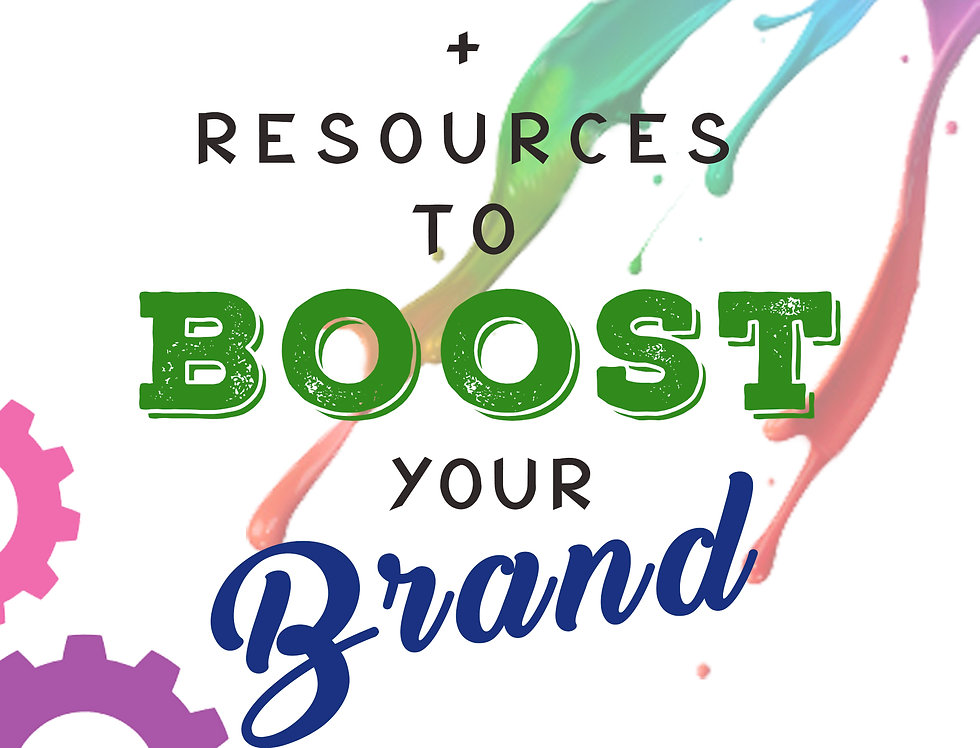 100 Tools & Resources to Boost Your Brand (PDF)