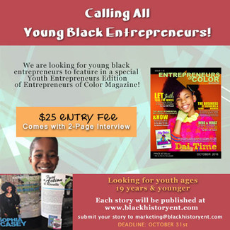 E.O.C. Mag Plans to Publish Special Edition for Young Black Entrepreneurs