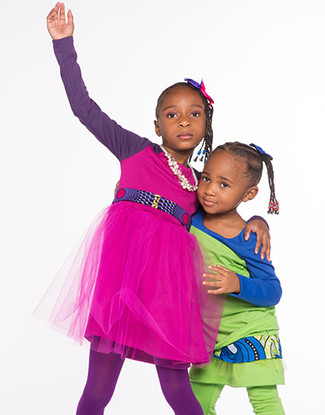 Toddler Sisters, Entrepreneurs Launch Clothing Line Targeted at Kids