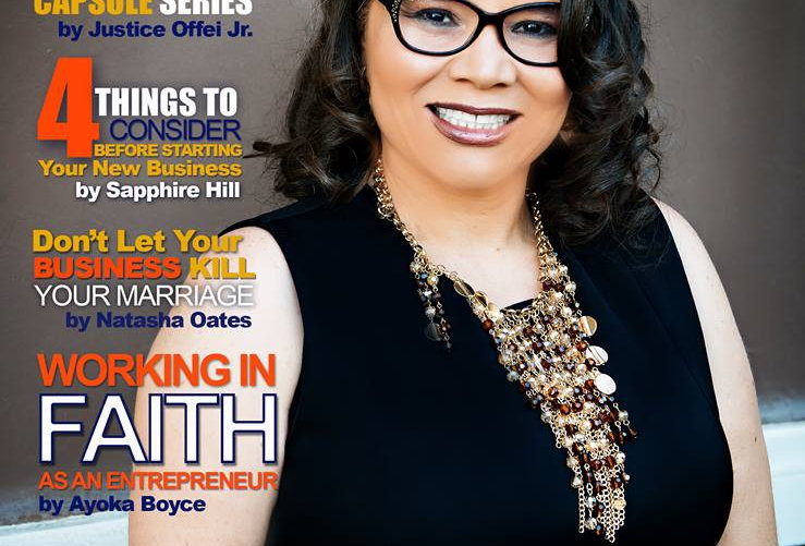 Entrepreneurs of Color Magazine (Oct. - Dec. 2017) Ft. Dr. Cozette M. White
