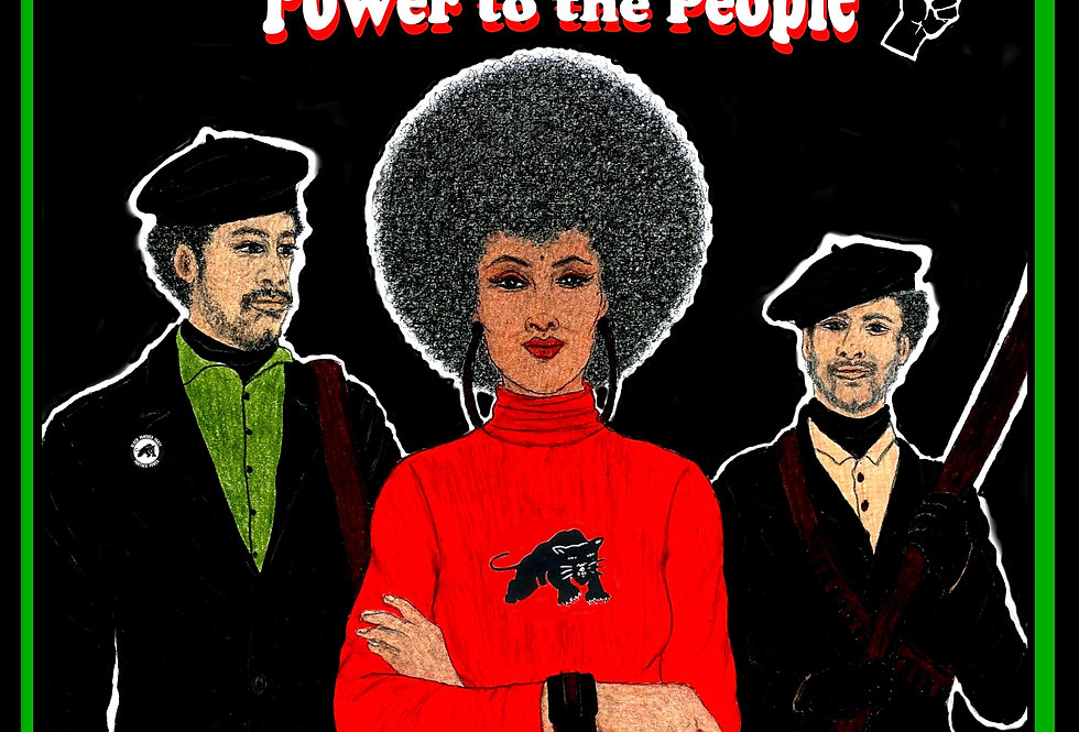 The Black Panther Party For Self Defense: Power to the People! By A. J. Jones