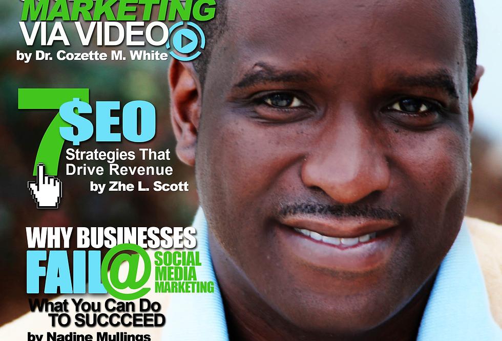 Entrepreneurs of Color Magazine (July - Sept) - Ft. Pezo Johnson