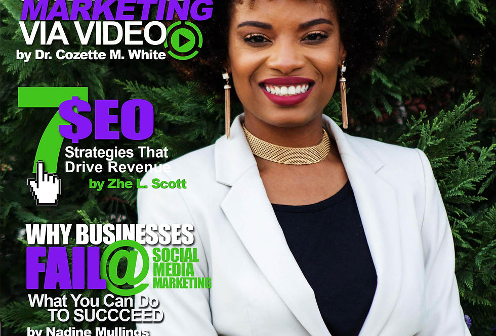 Entrepreneurs of Color Magazine (July-Sept) Ft. Cicely Rue