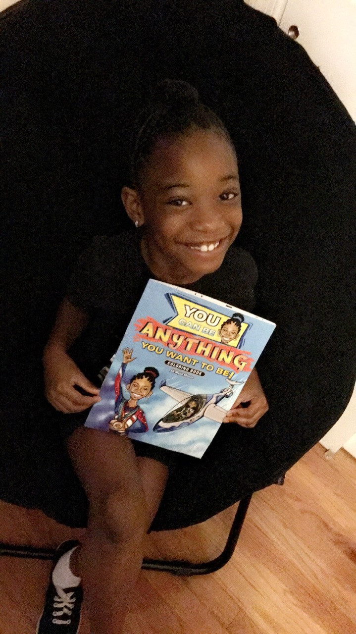 You can be Anything you Want to be Coloring Book by Ah'Myah Monae McKinley