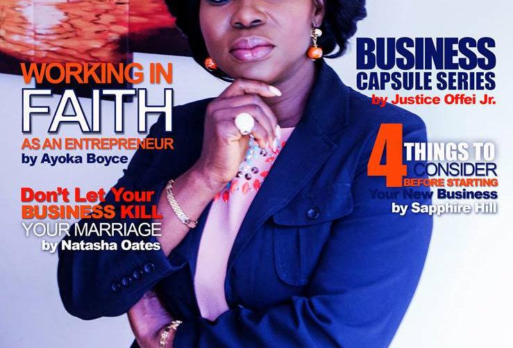 Entrepreneurs of Color Magazine (Oct. - Dec. 2017) Ft. Clara Rufai