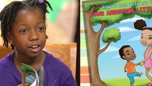 """8-Year Old Entrepreneur Writes Best Selling Book -- About Her """"Annoying Little Brother"""""""