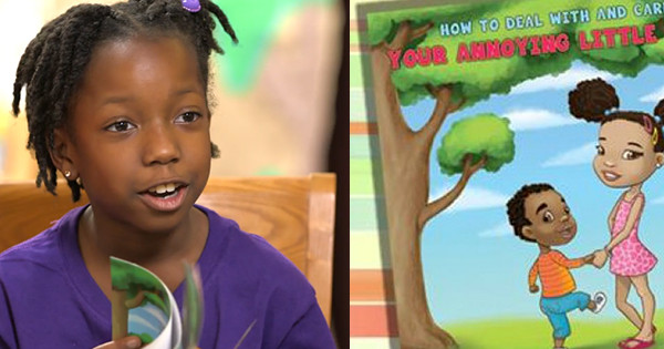 "8-Year Old Entrepreneur Writes Best Selling Book -- About Her ""Annoying Little Brother"""