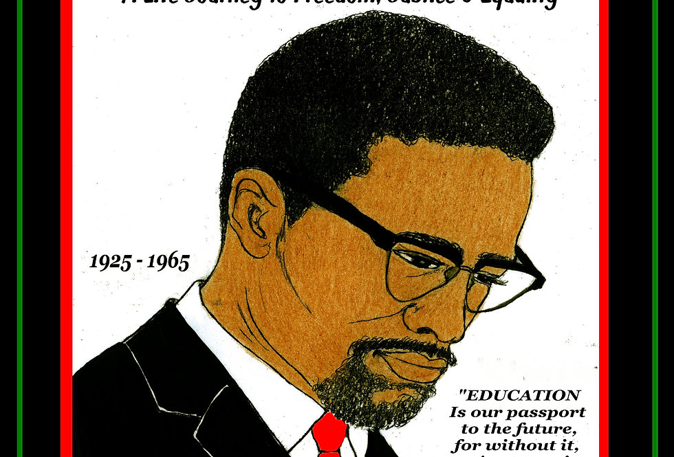 Malcom X: A Life Journey to Freedom, Justice & Equality By A. J. Jones