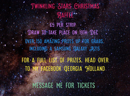 Christmas charity raffle