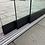 Thumbnail: Glasschiebewand 2 Schienen 1960mm breit