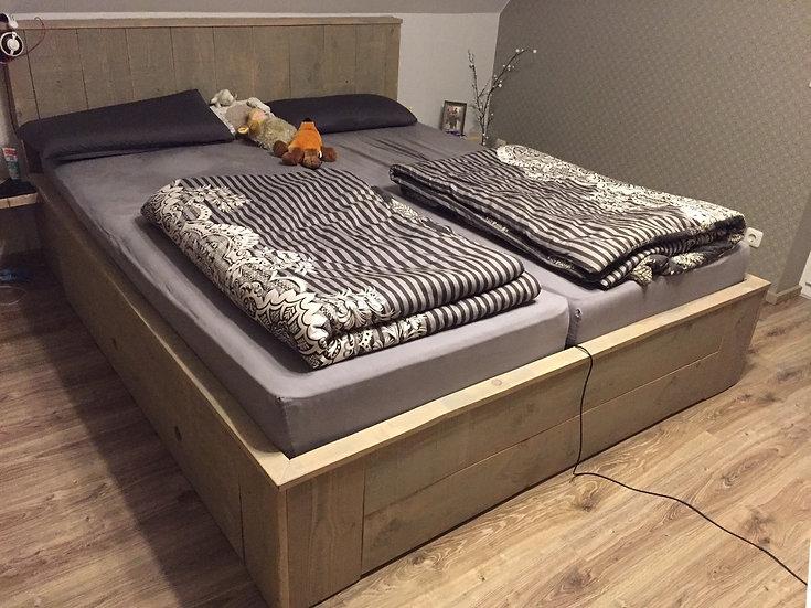 Bauholz Bett Nordig