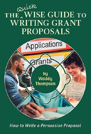 Cover of audiobook The Quick Wise Guide to Writing Grant Proposals
