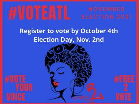 Women on the Rise Launches #VOTEATL 2021