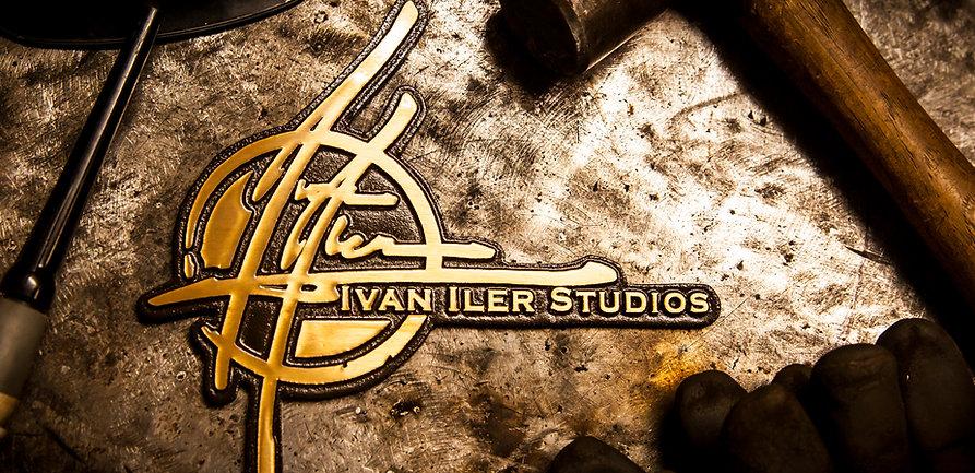 Ivan Iler Studios Brass Logo