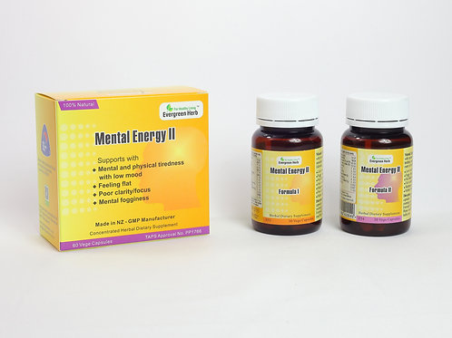 Mental Energy II - 60 capsules