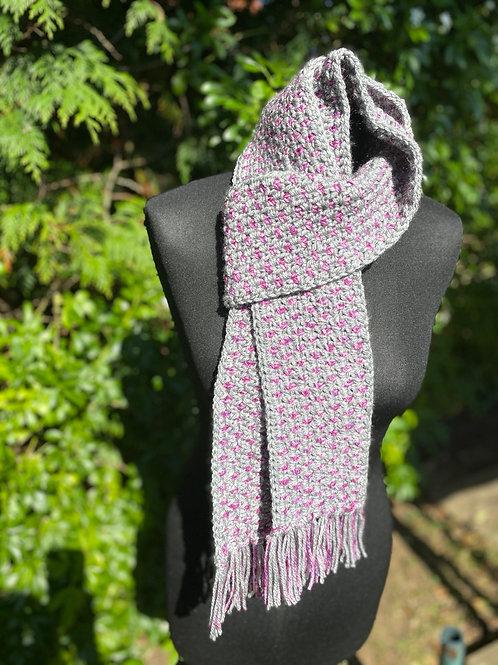 Two-tone Autumn scarf
