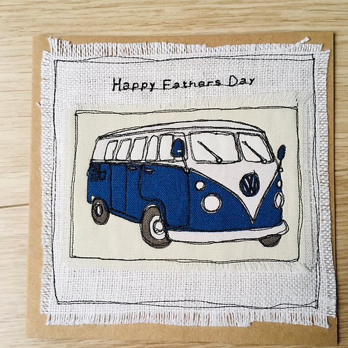 Camper Van Father's Day cards
