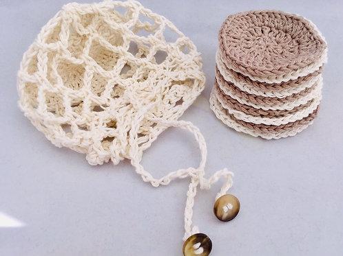 7-days-a-week crochet face scrubbies