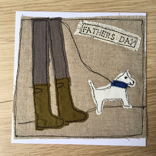 Walkies Father's Day Card