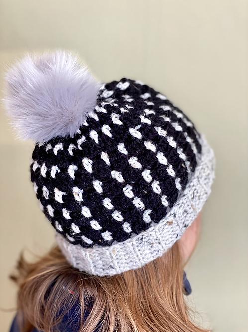 'Spit Spot' pompom hat