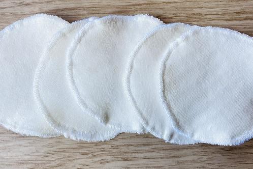 Hemp & cotton face pads - pack of 5