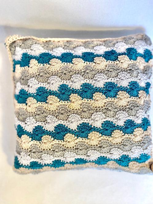 Shell pattern cushion