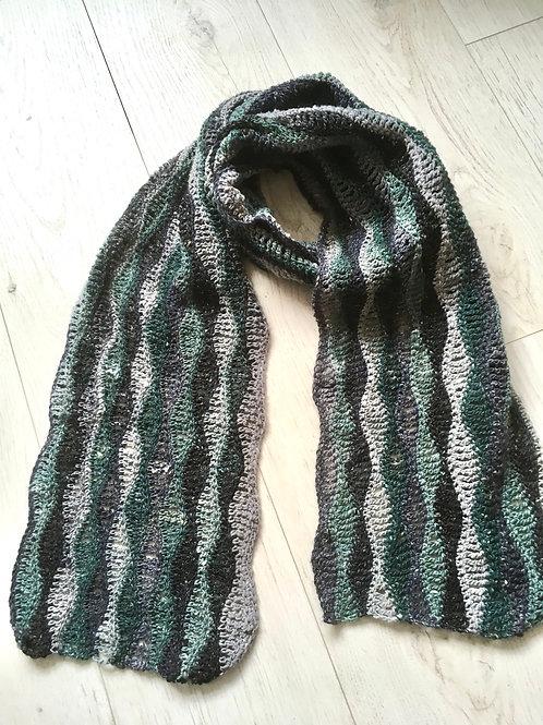 Geshi Yarn luxury scarf