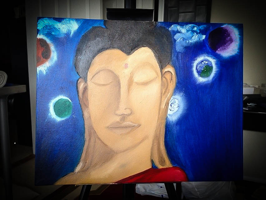 Enlightenment - Painted for Ariana