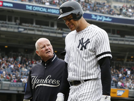 Aaron Judge to the IL
