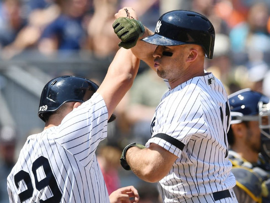 Yankees use 7-run 6th inning to top Rays 13-5