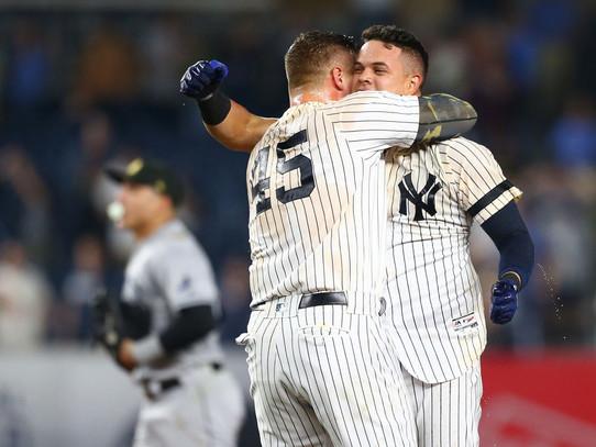 Urshela's walk-off caps ninth inning rally for Yankees