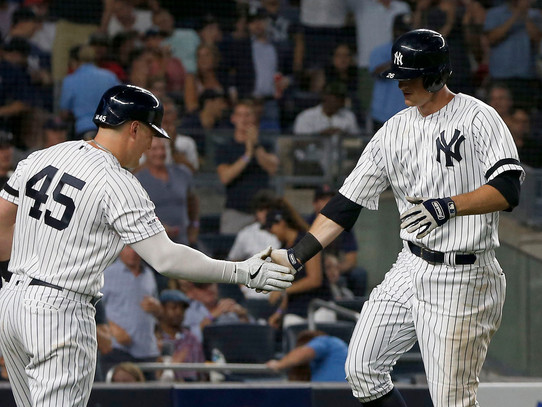 DJ Lemahieu Leads Yankees Past Red Sox 4-1