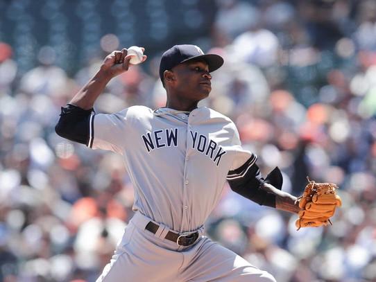 Yankees sweep Giants with 11-5 win